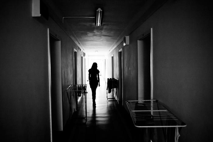Timisoara, Romania, 2011In a students' dormitory.