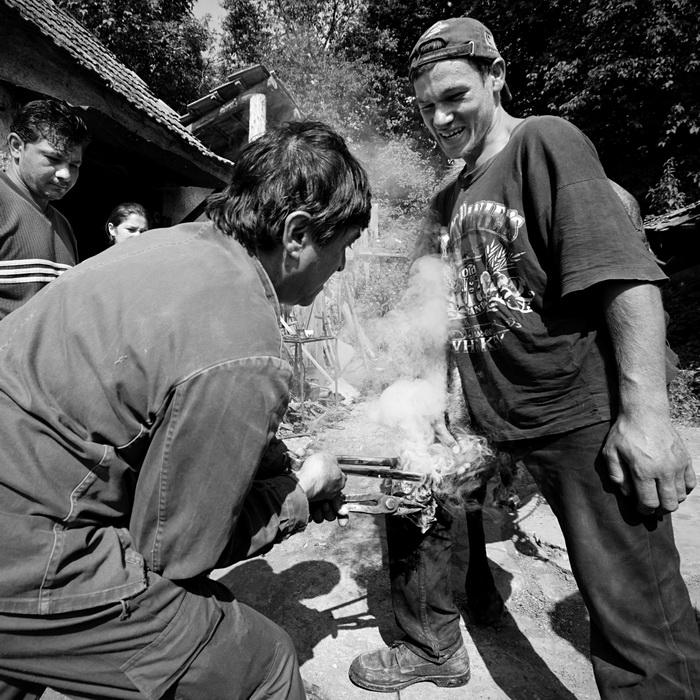 ROMANIA / Sibiu / Chirpar / 2008